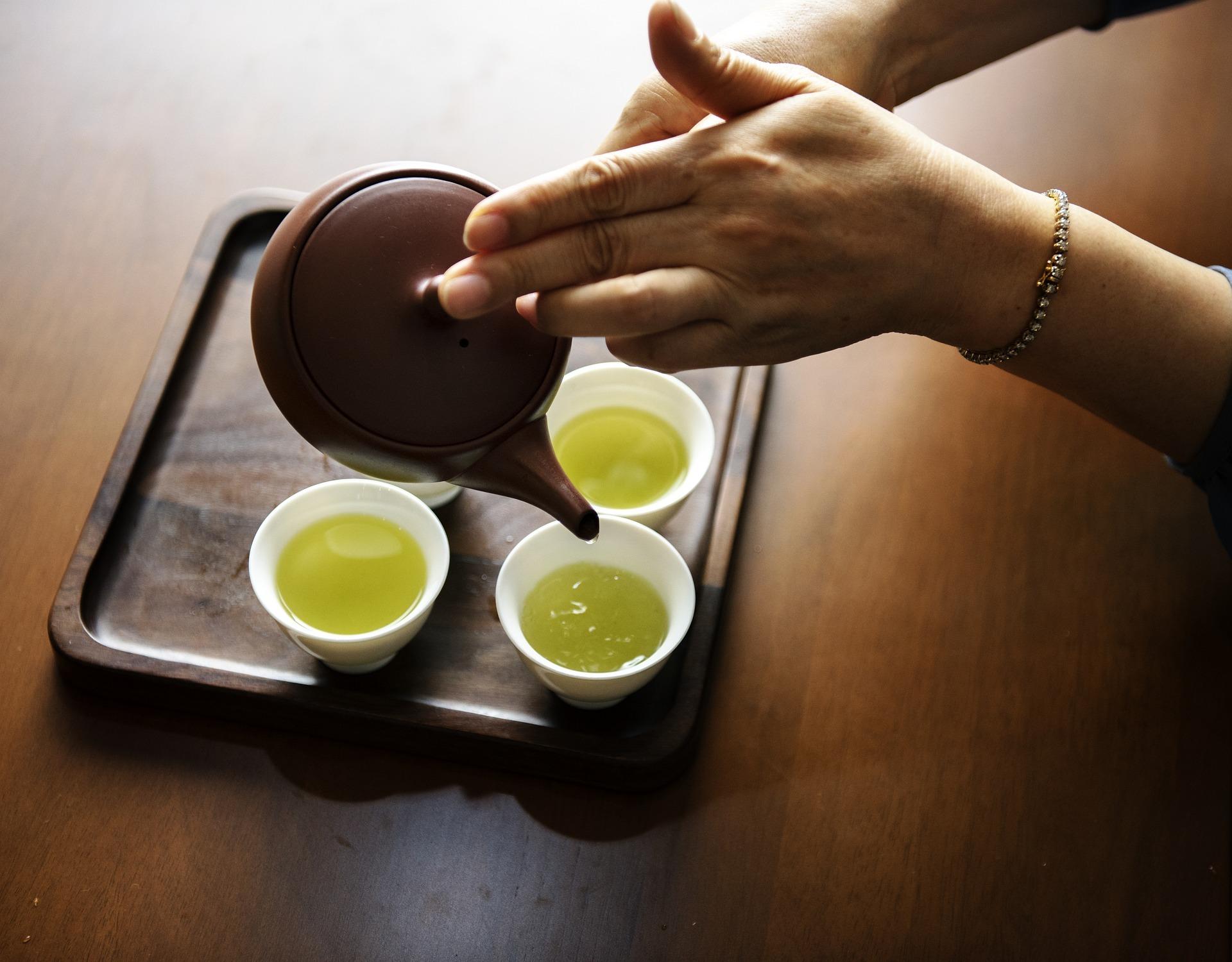 Grüner Tee für die Gesundheit auf ratgeber-blogger.de